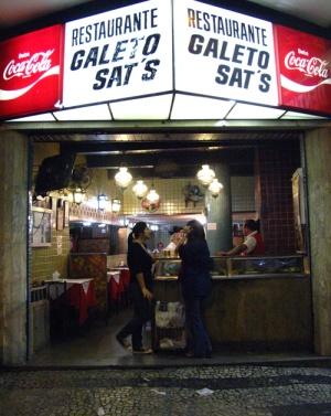 Galeto Sat´s: onde tudo termina e recomeça