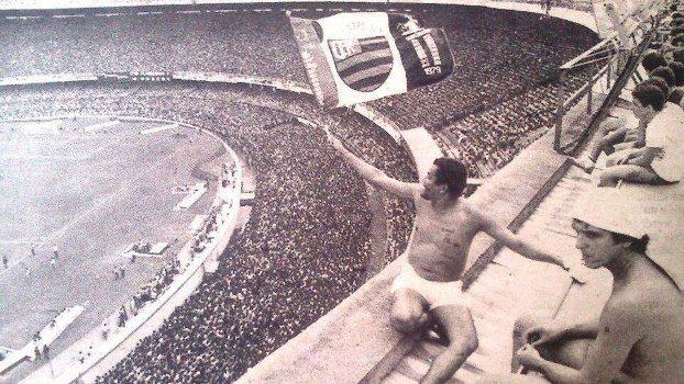 Bela imagem do que já foi o Maracanã